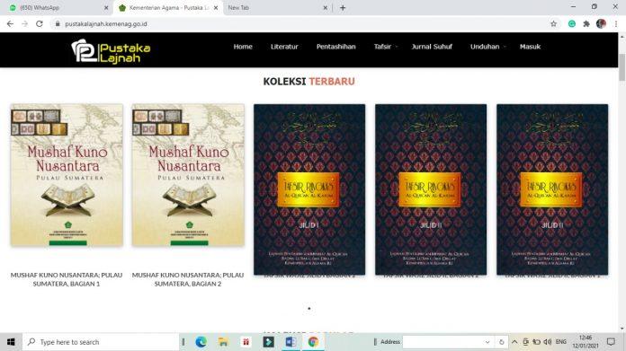 Pustaka Lajnah, Akses Kajian Al-Qur'an