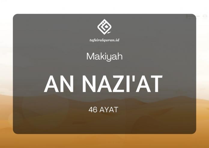 tafsir surah an-nazi'at