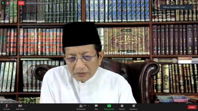 Prof. Nasaruddin Umar di Bedah Buku Tafsir Kebangsaan
