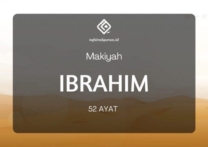 Tafsir Surah Ibrahim
