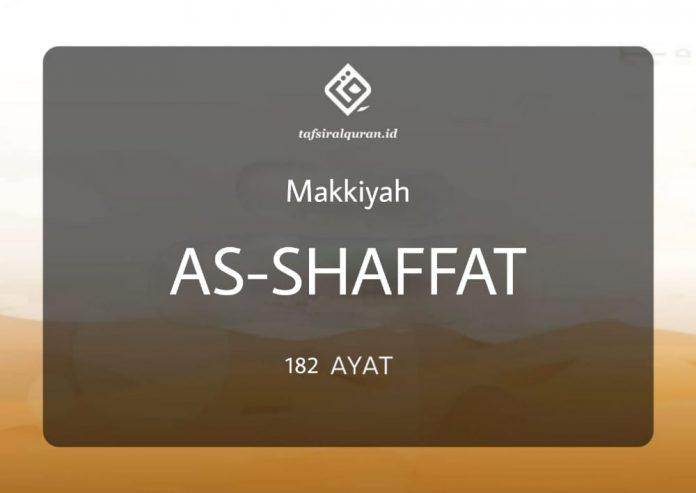 Tafsir Surah As-Shaffat